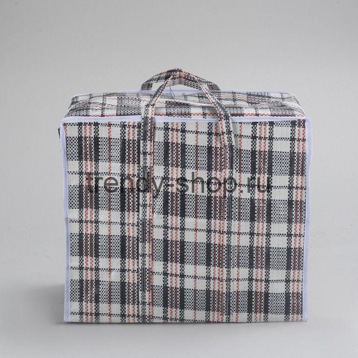 Хозяйственная сумка на молнии, р-р 50х40х20 см