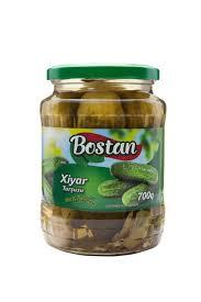 Соленные огурцы BOSTAN  700 гр