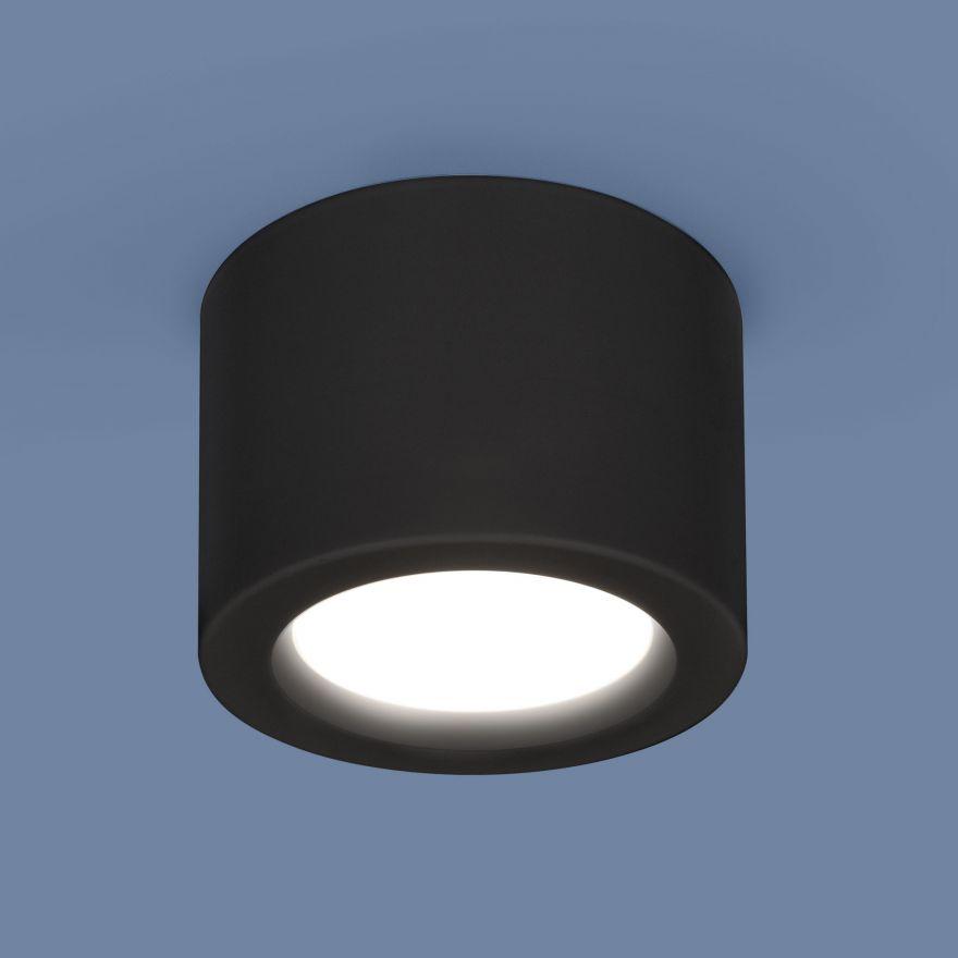 Светильник светодиодный Elektrostandard DLR026 6W черный матовый a040441