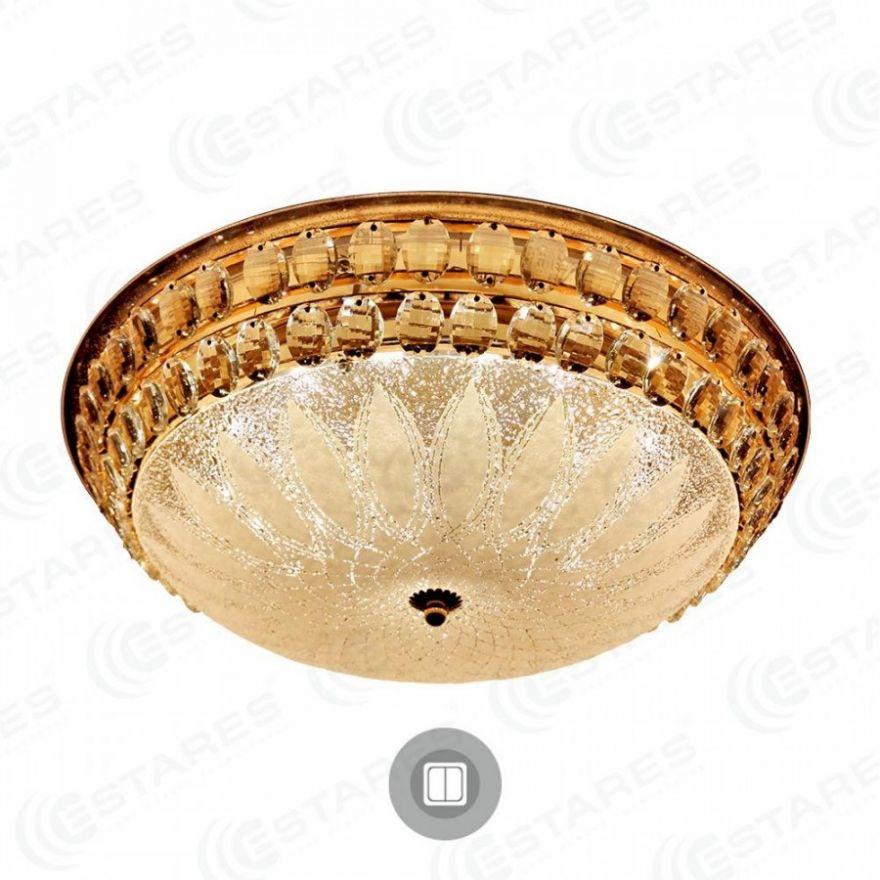 Светильник светодиодный Estares SAHARA GOLD 72W R-510-WHITE-220-IP20R-515-WHITE-220-IP20