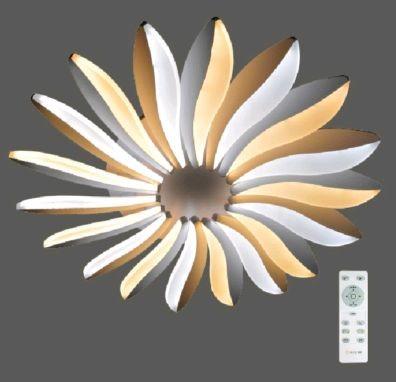 Светильник светодиодный Estares Liliya double 85w R-633-WHITE-220-IP44