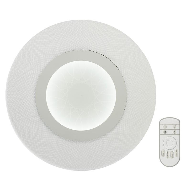Светильник светодиодный Fametto Nimfea DLC-N502 34W ACRYL/CLEAR с пультом ДУ