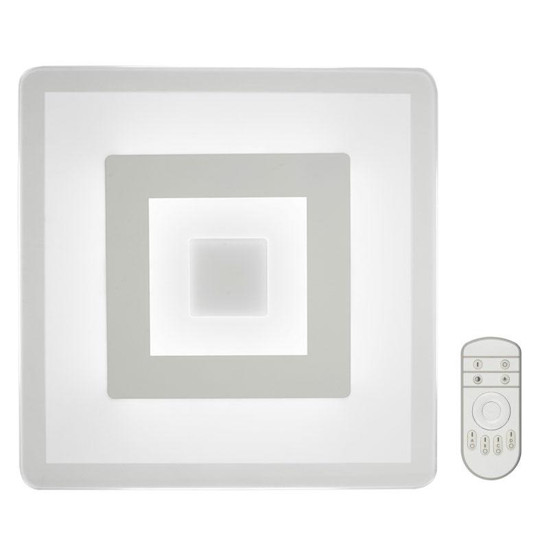 Светильник светодиодный Fametto Nimfea DLC-N501 38W GLASS/CLEAR с пультом ДУ