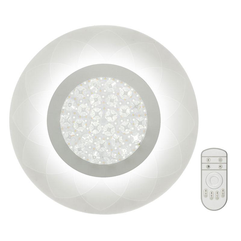 Светильник светодиодный Fametto Nimfea 42W DLC-N503 42W ACRYL/CLEAR с пультом ДУ