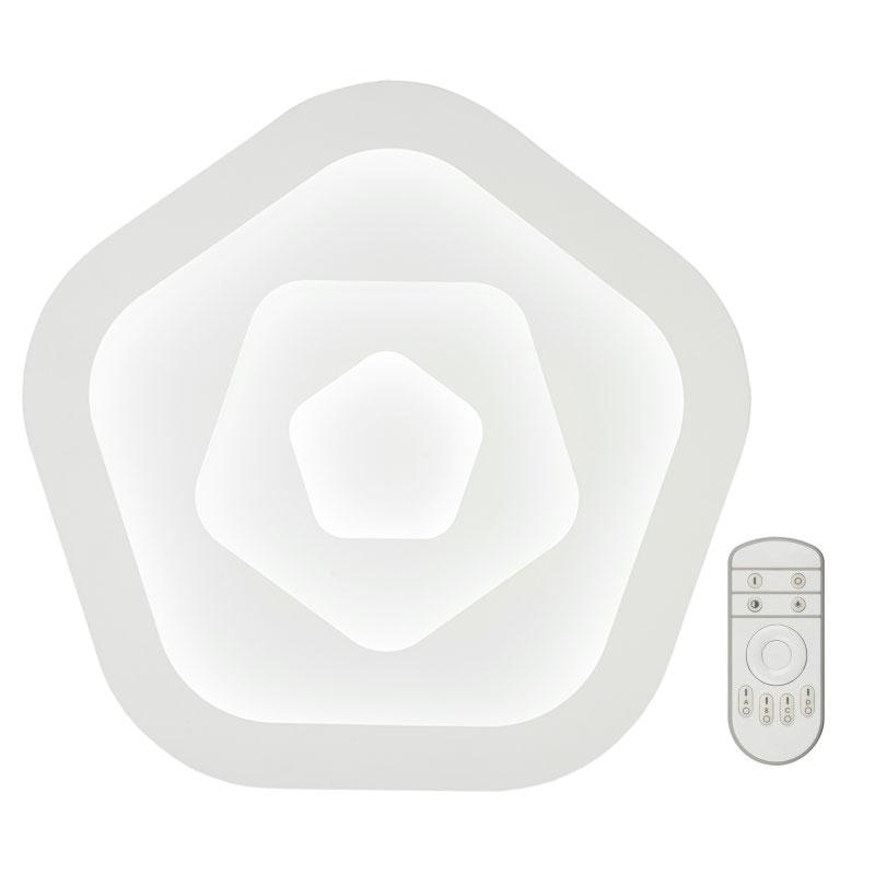 Светильник светодиодный Fametto Nimfea DLC-N504 62W IRON/WHITE с пультом ДУ