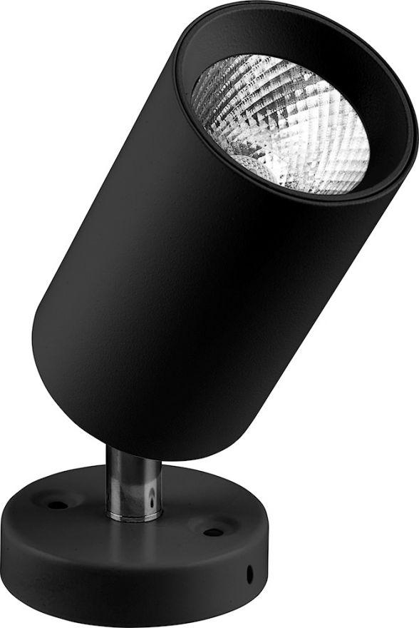 Светильник светодиодный Feron AL519 накладной 10W 4000K черный наклонный