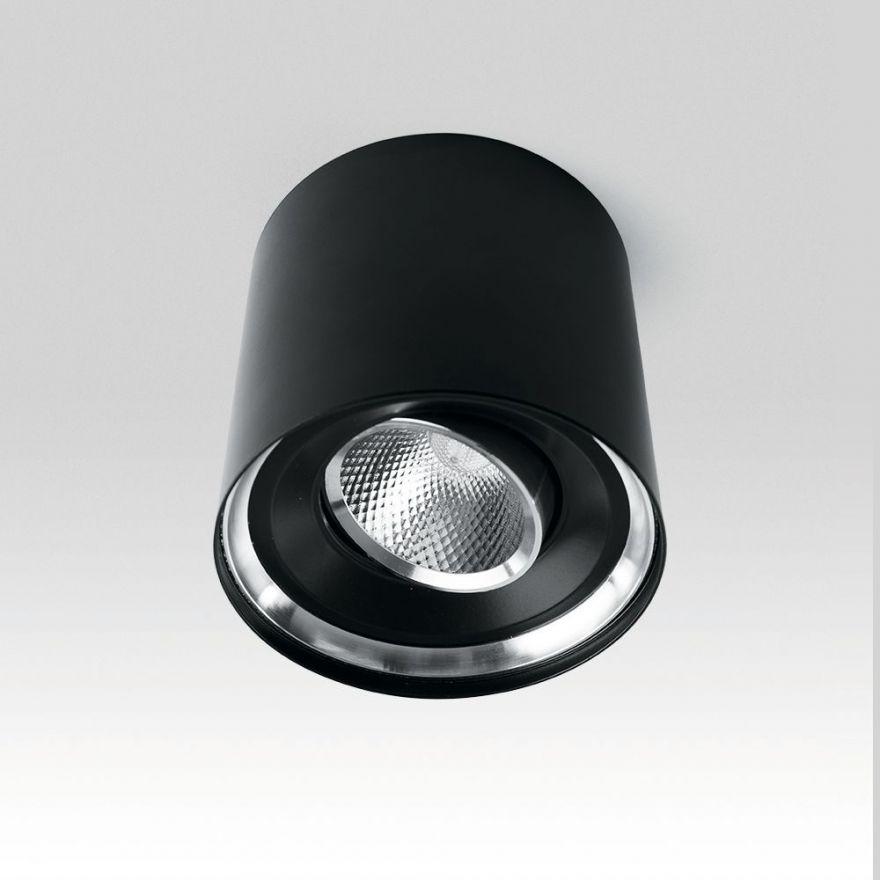 Светильник светодиодный Feron AL515 накладной 5W 4000K черный поворотный