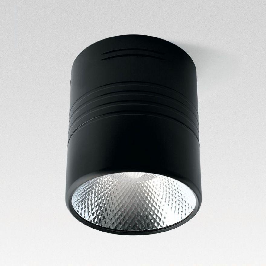 Светильник светодиодный Feron AL518 накладной 10W 4000K черный