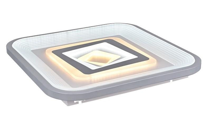 Светильник светодиодный управляемый General Double 140W Grazioso quadro