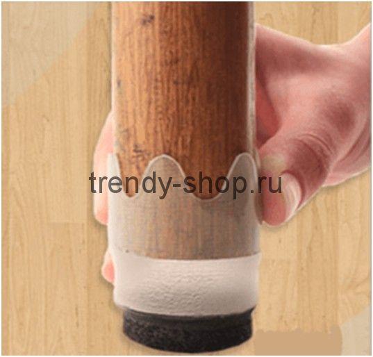 Защитные накладки для ножек мебели Furniture Feet, 8 шт