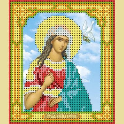 """Схема для вышивания бисером ASTREA """"Святая великомученица Ирина"""" (74104)"""