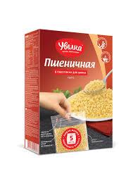 Крупа Увелка пшеничная 80гр*5