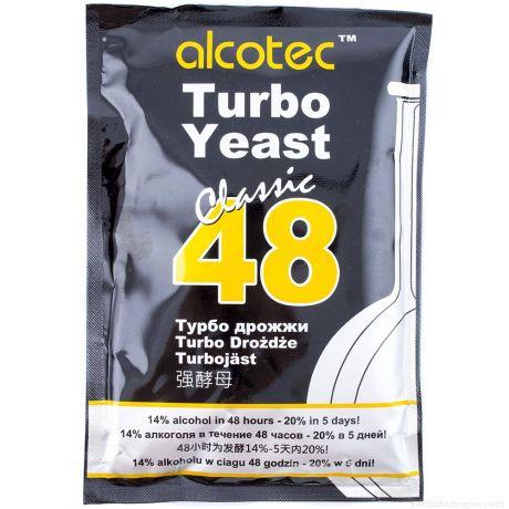 Спиртовые Турбо Дрожжи Alcotec Turbo Yeast 48 Classic