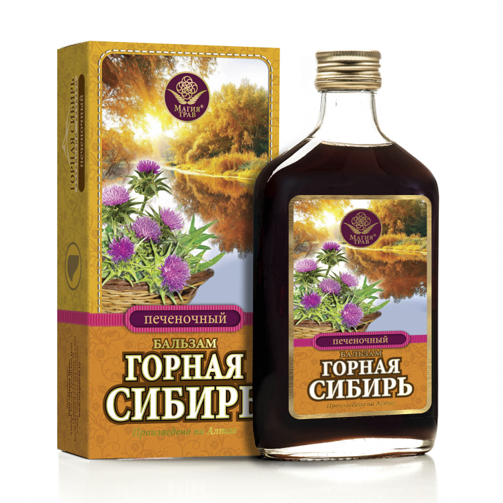 Бальзам печеночный «Горная Сибирь»
