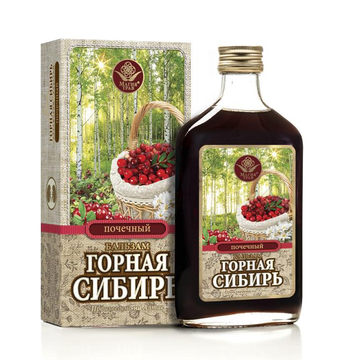 Бальзам почечный «Горная Сибирь»