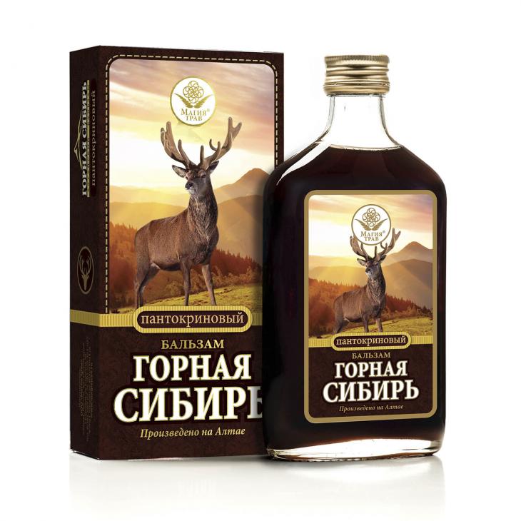 Бальзам пантокриновый «Горная Сибирь»