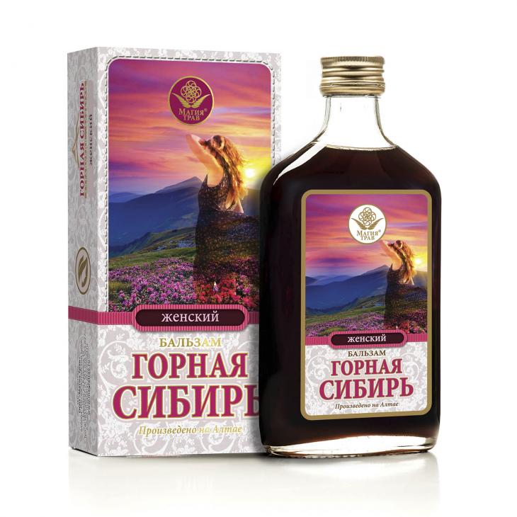 Бальзам женский «Горная Сибирь» женский