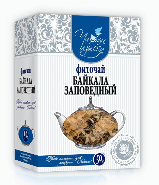 Фиточай Байкала заповедный