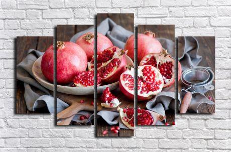 Модульная картина Для кухни 65