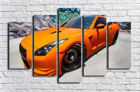 Модульная картина Авто 21
