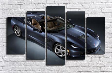 Модульная картина Авто 24
