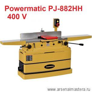 Фуговальный станок профессиональный 400 В 2.4 кВт JET Powermatic PJ-882HH 1610082-RU