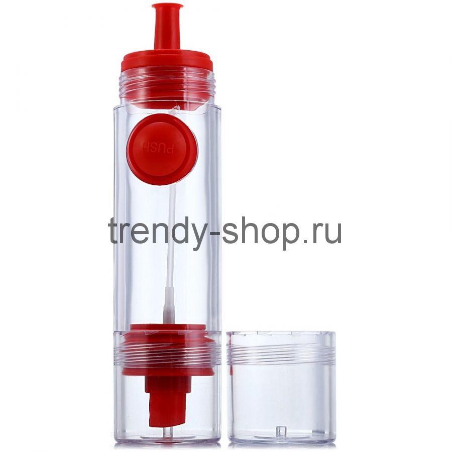Двусторонняя бутылочка-распылитель для соуса и масла 2 WAY Soy sauce Bottle