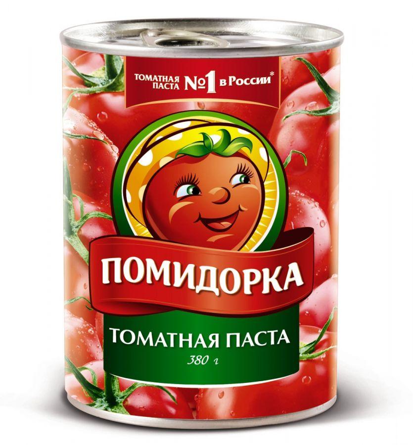 """Томат.паста """"Помидорка"""" 380гр  ж/б"""