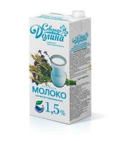 """Молоко """"Северная Долина"""" С КРЫШКОЙ 1,5% 950 мл."""