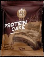 Fit Kit Protein Cake 70 гр Двойной шоколад