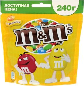 Драже M&M`s Peanut Butter 46.2 гр