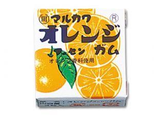 Жевательная резинка Marukawa 5.4 гр Orange (апельсин)