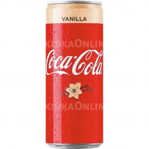 Кока-кола 0,33л Ванила с/б