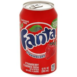 Напиток Fanta Strawberry стекло 355 мл