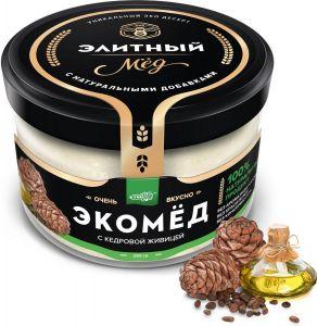 Мед с кедровой живицей 250 г Амурская обл.