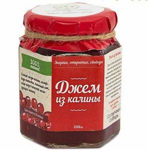 Мед с калиной 250 г Амурская обл.