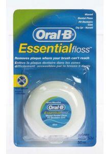 Зубная нить ORAL_B EssentialFloss мятная 50м