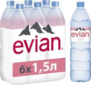 Вода минеральная Эвиан негаз. столовая 0,5л ПЭТ
