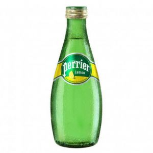 Вода Перье Лимон 0.33л ст. бут/Perrier Lemon