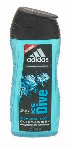 Гель д/душа муж.250 мл Adidas Ice Dive
