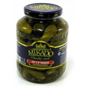 Огурцы маринованные 720 гр Микадо