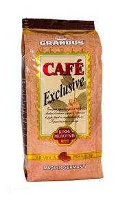 Кофе GRANDOS Exclusive молотый. Пакет 250 гр