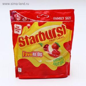 Жевательные конфеты Starburst Fruit Chews Favereds 210г