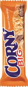 Злаковые полоски 50 гр арахис/шок CORNY