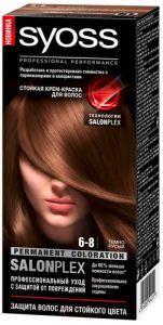 Краска д/волос SYOSS COLOR 6-8 Темно-русый 115 мл