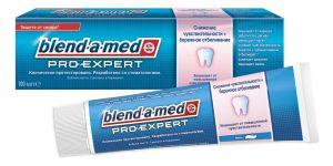 Зубная паста BLEND A MED 100 мл ProExpert Снижение чувств. + бережное отбелив. Мята