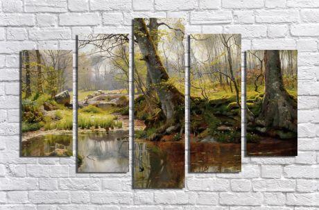 Модульная картина Пейзажи и природа 21