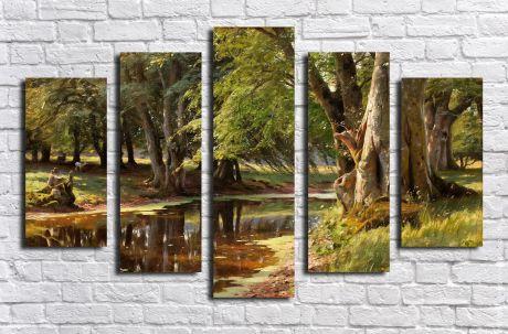 Модульная картина Пейзажи и природа 20