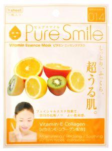 Регенерирующая маска для лица с витаминной эссенцией 23мл Pure Smile Essence mask