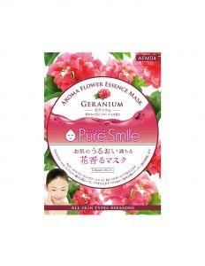 Антистр. маска для лица с маслом иланг-иланга, коэнзимом Q1, алоэ 23мл Pure Smile Aroma Flower/600